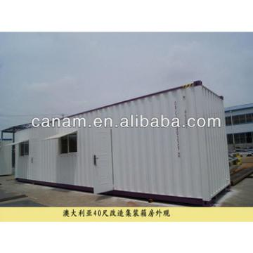 CANAM-modern garage container house