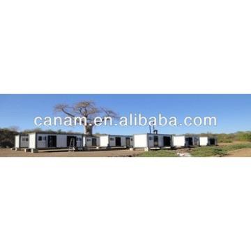 CANAM-Prefabricated Modular Container House porta cabin remote site camp