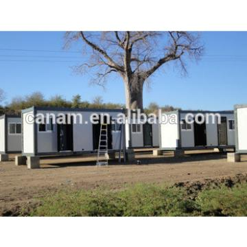 Flat pack low cost container dormitory