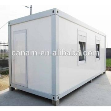 Portable trailer sandwich panel prefab house container