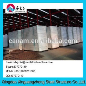 Sandwich panel low price and good appreance container house refugee camp tent
