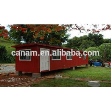 New Design 2016 shipping container house painted colorful container house