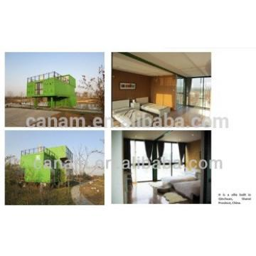 CANAM-modern portable prefab house chalet home design