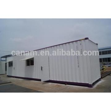 CANAM- 40ft prefab shipping container houses with kitchen bathroom