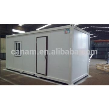 CANAM-portable log cabins double storey 20ft container kit homes