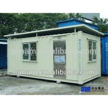 Mobile modern portable modular shipping container outhouse