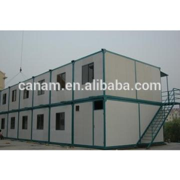 Low price beautiful expandable prefab caravan house