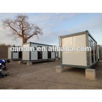 20 ft Low cost flat pack house kit prefab house 3 bedrooms