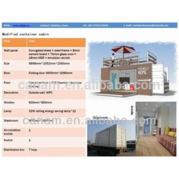 Flat pack standard container house for sale