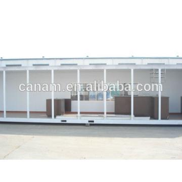 20ft/40ft prefabricated moving container house for coffee shop