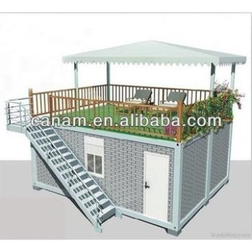 pre assembled falt-pack container house for living