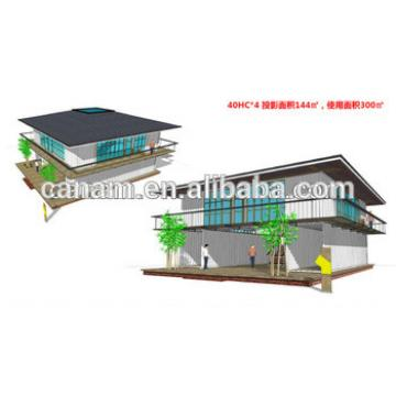 Canam- EPS sandwich panel prefab modular kit house