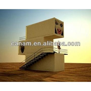 canam-20 Feet Flat Packing Container Type Building