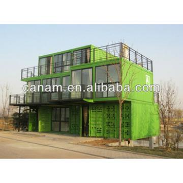 Canam- Luxury double-deck portable house in fast delivery