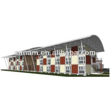 CANAM- 40ft steel framing container cabins for dormitory