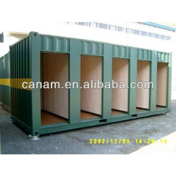canam- Prefabricated Light Steel Portable Houses/20ft container house/ Quick assembly house