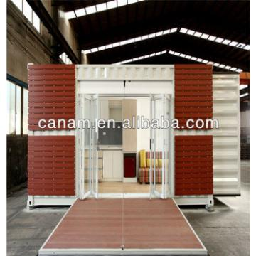 Canam- Easy assembled steel structure prefab mobile container room