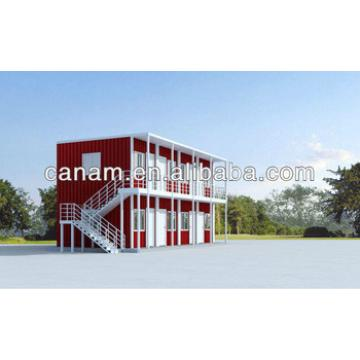 CANAM- Steel structural fame container house building and school building