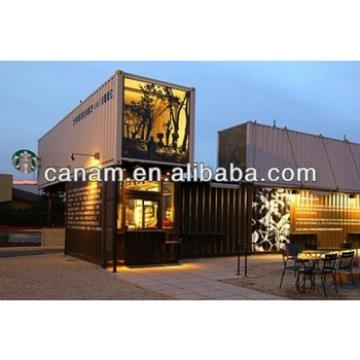 CANAM- Prefabricated container coffee shop