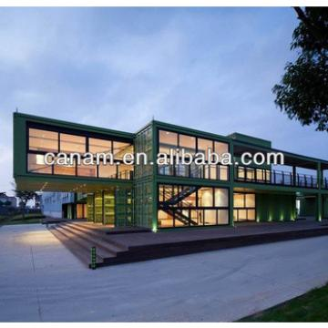 Canam- luxury container living house prefab shipping container dormitory
