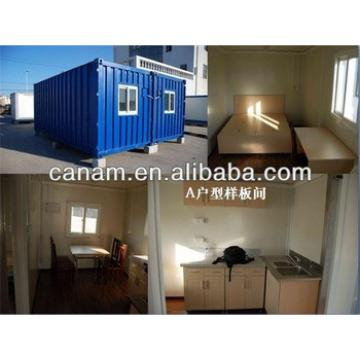 CANAM- Steel structure container coffee shop /shopping/office with high quality