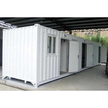 CANAM- folded living container house with deck