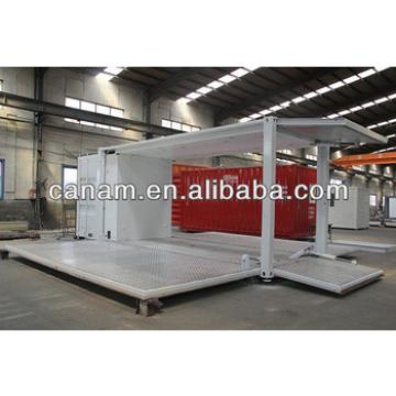 CANAM- hydraulic system container stroage