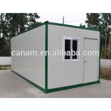 CANAM- metal frame container house with sprayed fire-resistance material