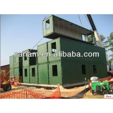 CANAM- shipping container house with silding door