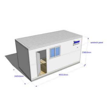 canam-container house furnished layout