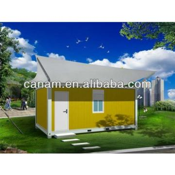 CANAM- modified 20 feet container house with canopy