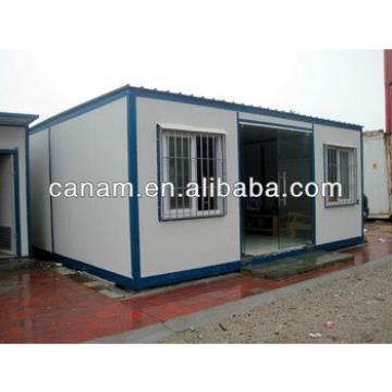 CANAM- corrugated sheet prefab shipping container homes
