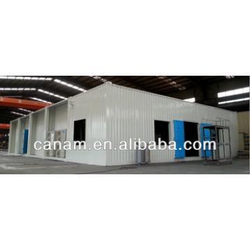 CANAM- container apartment building