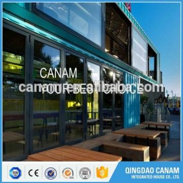 Explosion-proof light steel structure container restaurant with CE certificate