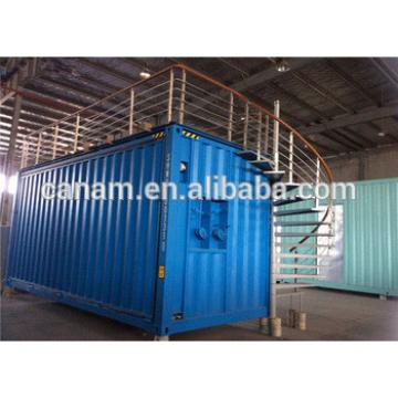 Customized Modifying Shipping Containers 20FT , Temporary Restaurant Containers