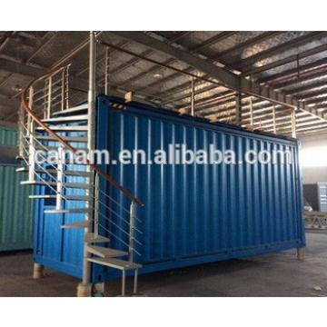 temporary facilities steel shipping container house 20ft container restaurant