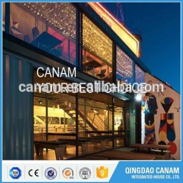 steel structure Coffee Shop Prefab Container Restaurant