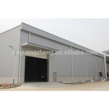 Color steel structure fabricated warehouse