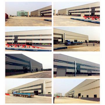 Large scale multi span steel structure workshop supplier