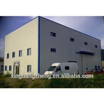 large span steel structure and 0.5mm PPGI panel warehouse