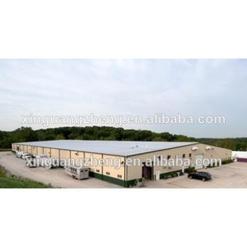 prefabricated steel structure greenhouse with sandwich panel