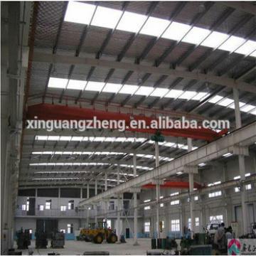 large span prefabricated industrial steel structure workshop