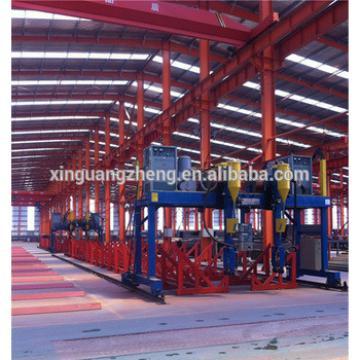 Welding H steel structure turnkey warehouse