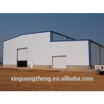 Prefabricated steel structure industrial warehouse building