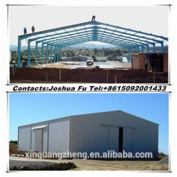 Simple prefabricated steel structure barn shed