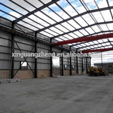 large span anti-earthquake portal frame steel structure building