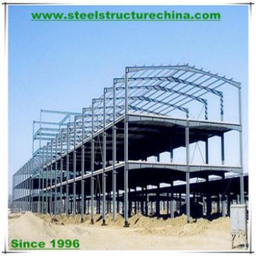 Building project steel frame structure manufacturer & exporter
