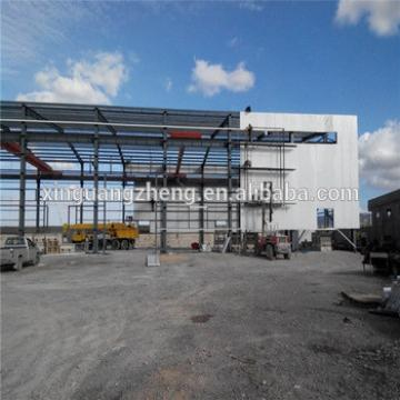 Prefab light steel structure depot warehouse