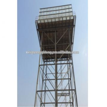 Steel structure supporting tower