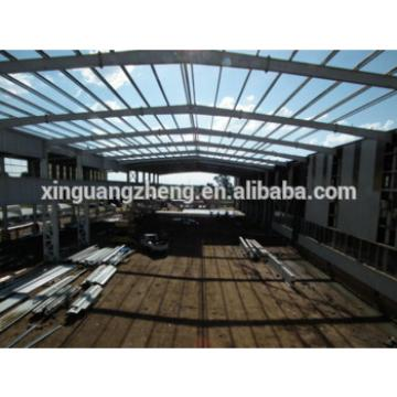 steel frame factory fabrication warehouse